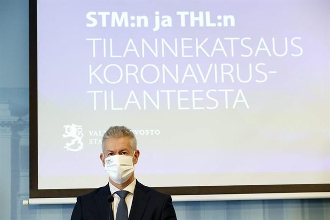 Taneli Puumalainen, överläkare vid Institutet för hälsa och välfärd.