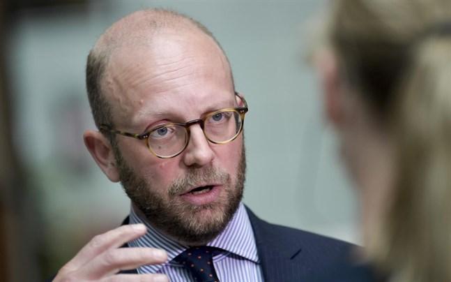 Åklagaren Henrik Olin.