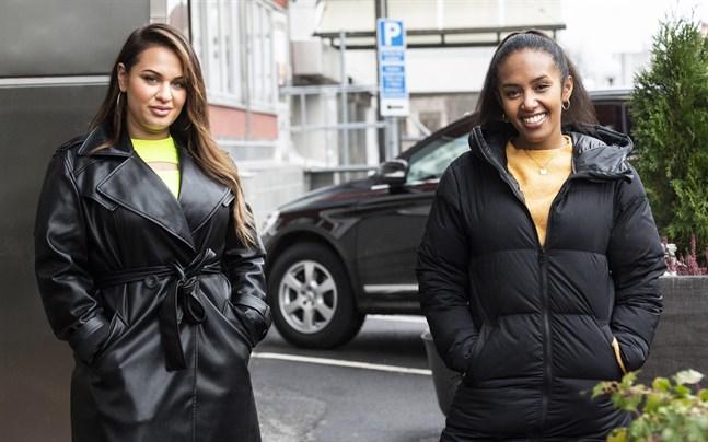 """Paulina Pancenkov och Nadja Holm gör upp om segern i """"Idol"""" på fredag."""