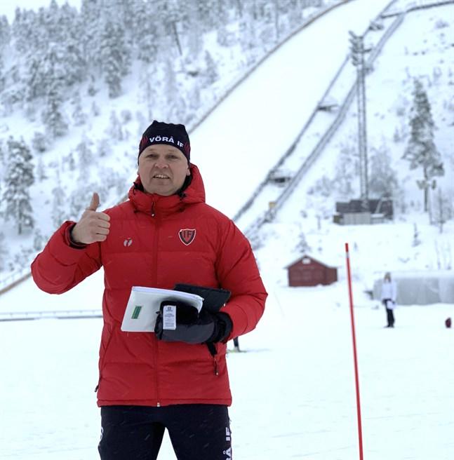 Tor-Leif Häggman är tävlingsledare, då Vörå IF tar sig an den grannlaga uppgiften att arrangera ÖID-mästerskapen den 30–31 januari.