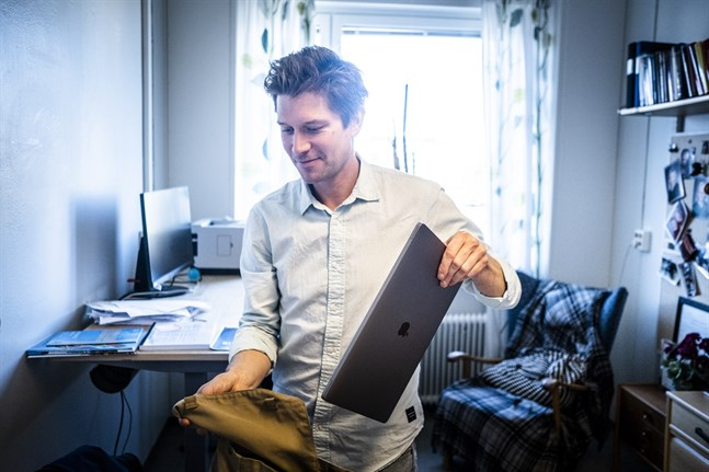 Joacim Rocklöv, professor i epidemiologi och folkhälsovetenskap vid Umeå universitet. Arkivbild
