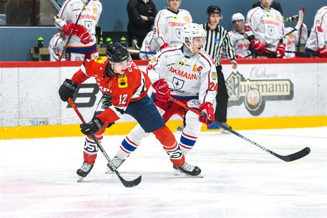 Heikki Harju gjorde ett mål för Hermes i säsongpremiären.