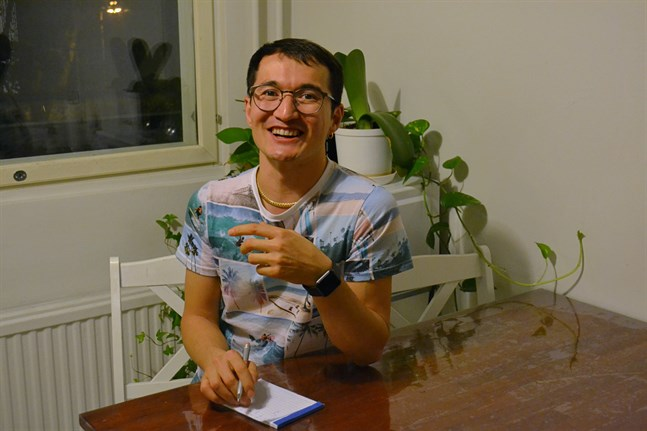 Aminullah Rezaei drömde länge om att studera. Genast när han fick uppehållstillstånd började han fundera på var han kunde inleda studierna och söka studiebostad.