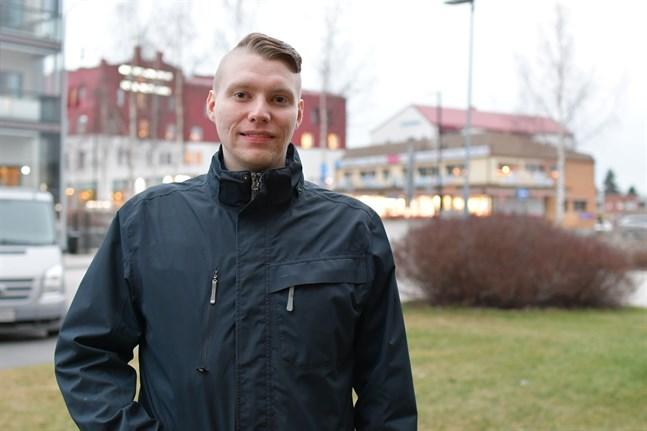 Kim Rickséns examensarbete vid Novia höll nationell toppklass och fick pris av Teräsrakenneyhdistys.