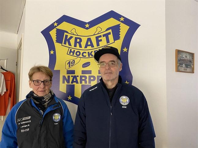 Det har blivit många och långa dagar för Inger och Erik Sund i Hallis. Allt för den jubilerande föreningens bästa.
