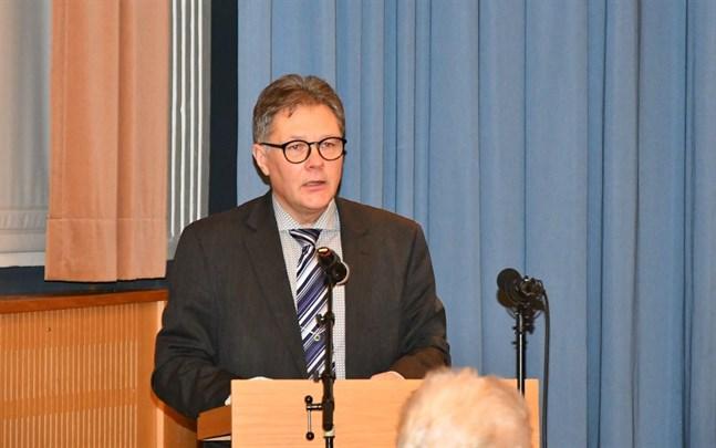 Stadsstyrelsens ordförande Patrick Ragnäs är nöjd åt ett bokslut på plus, efter en budget som visade minus.