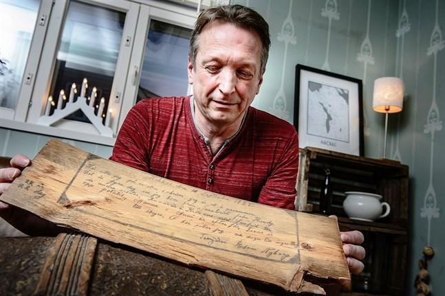 – Min farfars bror dog i tuberkulos 1926 endast 22 år gammal. Inget vaccin fanns då säger Erik Nyberg.