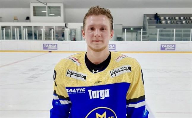Maxim Korobeinikov gjorde en try out för Malax IF innan han skrev på.