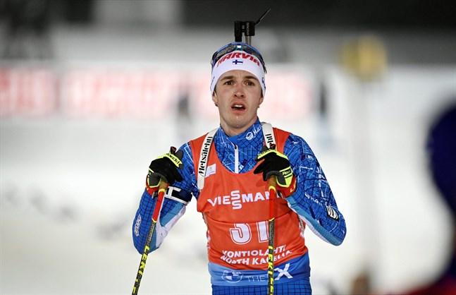 Tero Seppälä var bästa finländare i torsdagens sprint, men långt från en plats på prispallen.