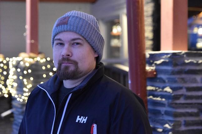 All vår verksamhet går på förlust just nu, säger Tommi Lappalainen, delägare i bolaget Visit Inari.