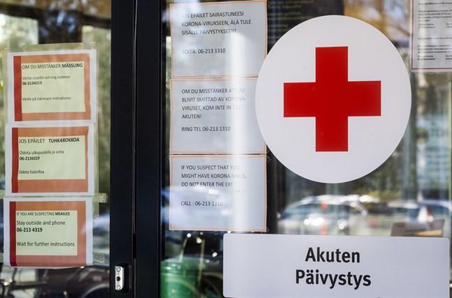 personer har insjuknat det senaste dygnet, meddelar Vasa sjukvårdsdistrikt på söndagsförmiddagen.