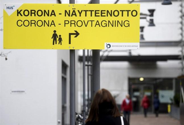 Det har gjorts 2306672 coronavirustest i Finland, uppger Institutet för hälsa och välfärd. Finlands testningskapacitet är cirka 26 000 test per dag.