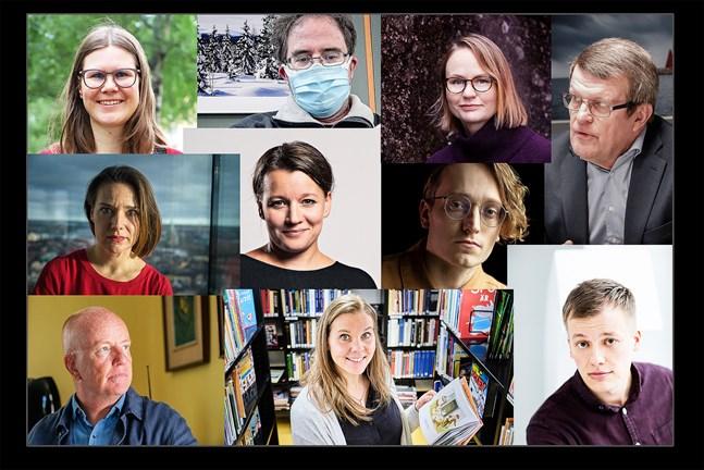 Vilken var den största österbottniska läsupplevelsen 2020? Tio personer med kopplingar till det österbottniska litteraturfältet svarar.