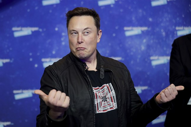 Elon Musk har nyligen sagt att han försökte få ett möte med Tim Cook i ett försök att sälja Tesla, när det stormade i bolaget, enligt The Wall Street Journal. Arkivbild.
