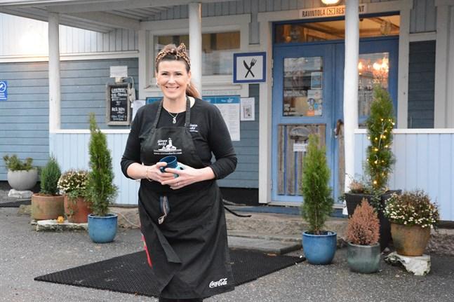 Pia Malmi på Blå Stunden blev årets företagare i Kaskö.