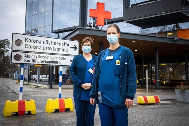 Enligt Åsa-Britt Forth-Snellman och Barbro Nyman, vid Vasa centralsjukhus jouravdelning, skulle år 2020 varit outhärdlig utan kamratstöd.