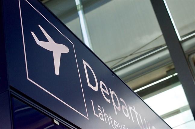 Fram till den 11 januari får inga flyg från Storbritannien landa i Finland.