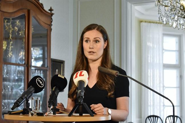 Statsminister Sanna Marin (SDP) svarade på pressens frågor i programmet Statsministerns frågetimme på Yle Radio Suomi på söndagen.