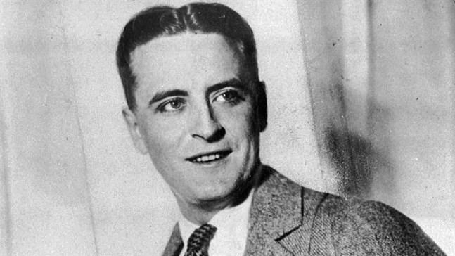 """F Scott Fitzgerald gav ut sin klassiska roman """"The great Gatsby"""" för 95 år sedan. Arkivbild."""