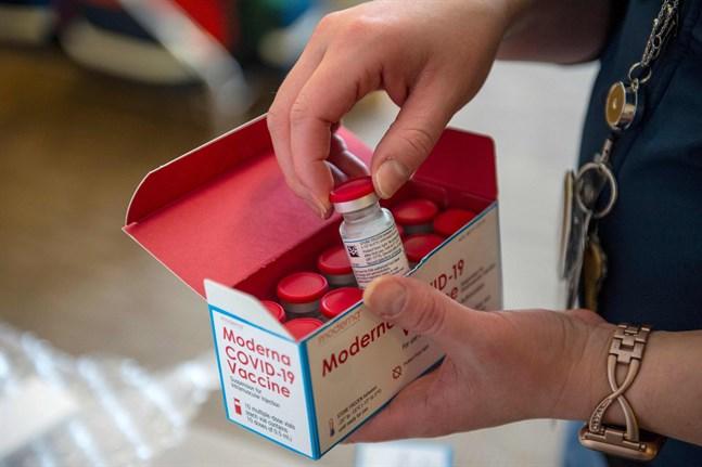 Om Moderna får grönt ljus av Europeiska läkemedelsverket kan Finland räkna med att cirka 10000 doser av bolagets coronavaccin levereras till landet redan nästa vecka.