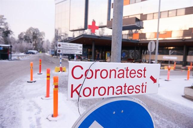Nio av fredagens coronafall finns i Vasa.