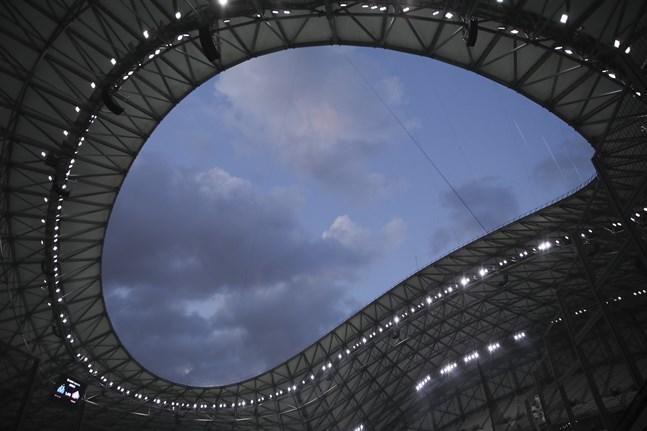 Delar av Marseilles arena Stade Vélodrome kan upplåtas åt myndigheterna för vaccination mot coronaviruset. Arkivbild.