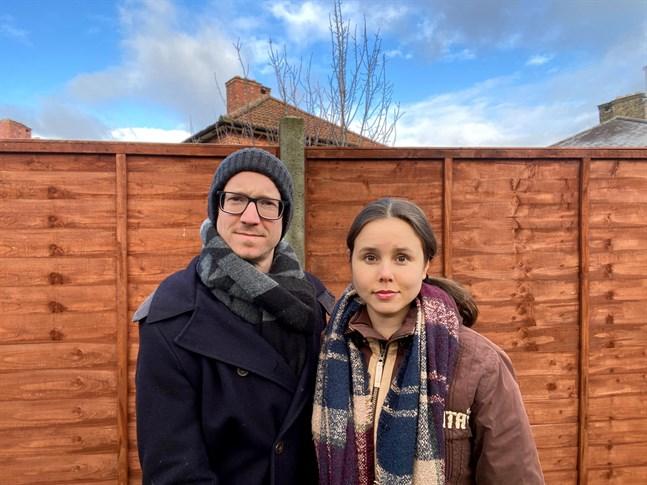 Madicken Malm från Malax flyttade till London 2012. Pojkvännen Oliver Smith har hon varit tillsammans med i två år.