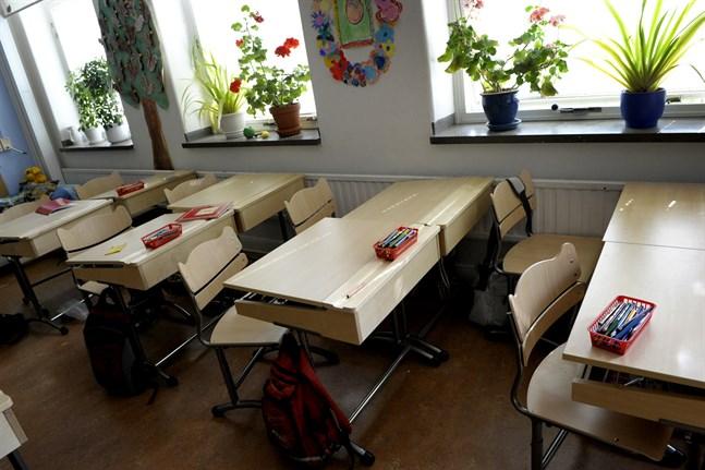 Distansundervisning gäller för de flesta av eleverna i Europa i rådande coronaläge. Arkivbild.
