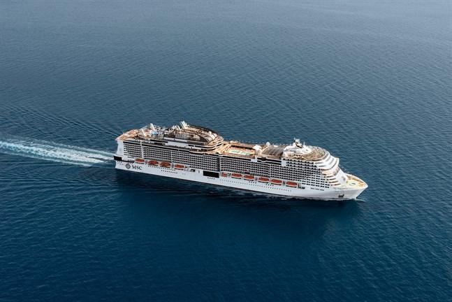 Vätgasmotorn ska testas i MSC Cruises passagerarfartyg.