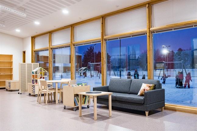 Framöver ska alltfler timlärare jobba i Larsmos förskolor. På bild Risö förskola.