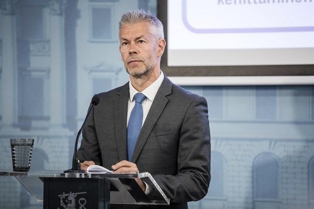 Taneli Puumalainen, överläkare vid Institutet för hälsa och välfärd. Arkivbild.