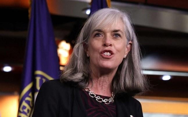Representanthusets vice talman, demokraten Katherine Clark, kräver att Donald Trump avsätts.
