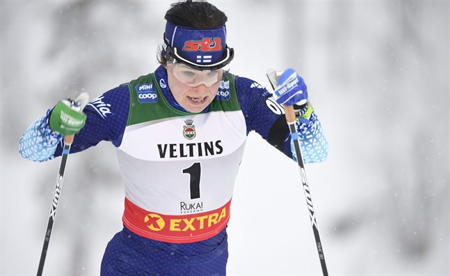 Krista Pärmäkoski tog sig ända till final.