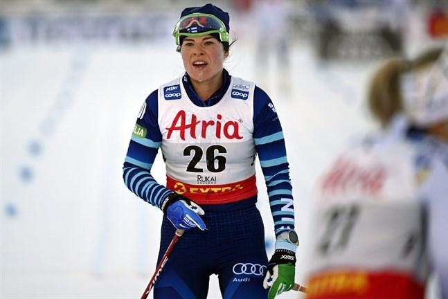 Krista Pärmäkoski visade i Tour de Ski att hon blir att räkna med i VM.