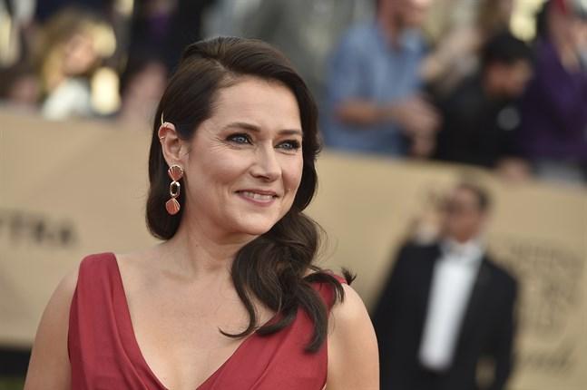 """Sidse Babett Knudsen gör huvudrollen som den danska politikern Birgitte Nyborg även i den fjärde säsongen av """"Borgen"""". Arkivbild."""