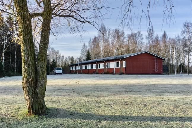 De två radhusen i Vexala inrymmer totalt åtta lägenheter.