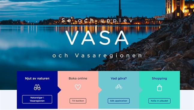 Visit Vasas webbsida vann en rad utmärkelser vid Finnish Web Awards.