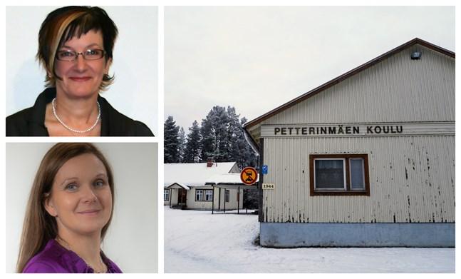 Både bildningsdirektör Helana Emaus och nämndordförande Leena Nikkari-Östman (SFP) säger att  den finska skolans framtid är ett svårt ärende.