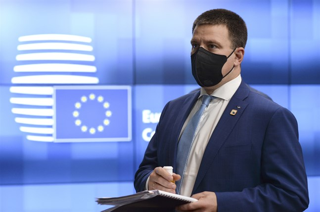 Juri Ratas, här på ett EU-toppmöte i oktober förra året.