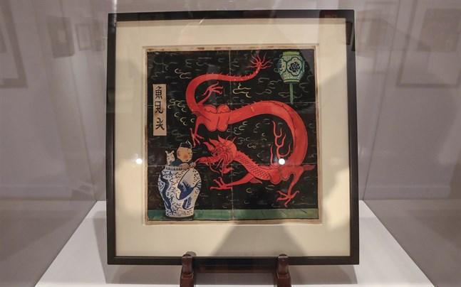 En Tintin-illustration kan säljas till rekordbelopp, tror auktionsfirman.