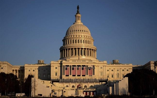 Presidentinstallation av demokraten Joe Biden äger rum den 20 januari vid kongressbyggnaden Capitolium.