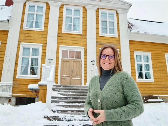 Mikaela Smedinga ser fram emot att äntliga få samla hantverkare i slöjdens tecken även om det blir i ny tappning.