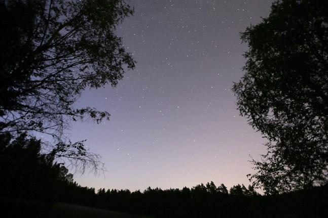 """""""Jag såg ett mycket ovanligt ljus på himlen som rörde sig mycket konstigt. Sken mycket starkt, som en klump på himlen."""" Så beskriver ett vittne det hon såg en kväll 2018 – som nu klassas som ufo. Arkivbild."""