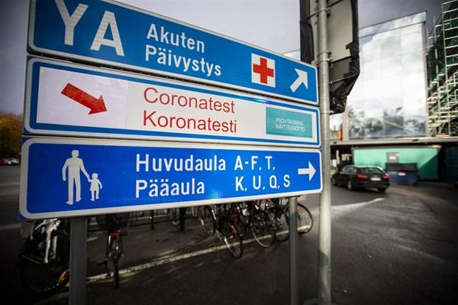 Tre av onsdagens fyra nya coronafall har smittats utanför Vasa sjukvårdsdistrikt.