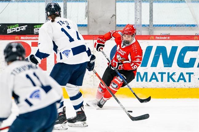 Noora Mylläri, här hemma mot Kuortane, hängde in 1–2-målet borta mot Lukko.