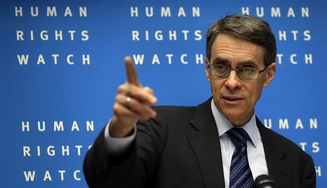 Kenneth Roth leder människorättsorganisationen Human Rights Watch. Arkivbild.