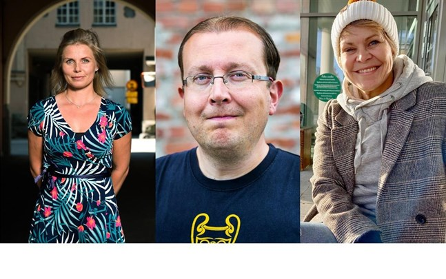 Heidi Matinlassi, Antti Koivukangas och Nina Brännkärr-Friberg är nya kandidater på SFP:s lista i kommunalvalet.