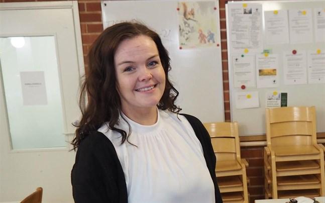 Alina Rasmus är verksamhetschef på Seniorcentret Pettersborg och hon hoppas att den nya seniorparken ska vara till nytta för närståendevårdarna.