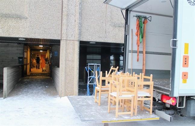 Staden återanvänder möbler i det nya Rådhusgatans daghem.