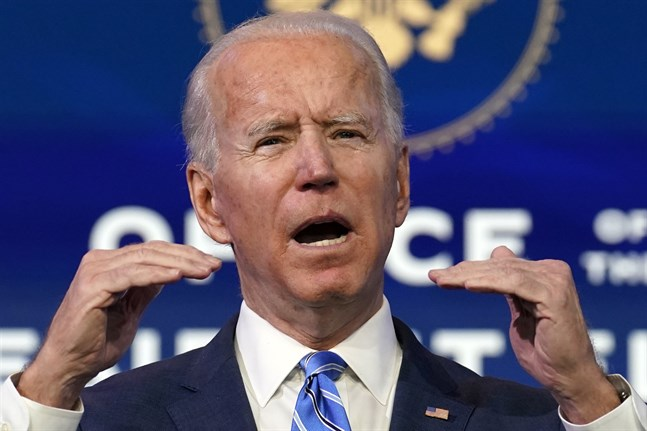 Demokraten Joe Biden blir USA:s president på onsdagen.